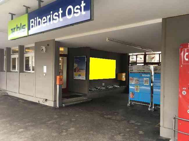371 Bahnhof Fussganger Kiosk Biberist Ost