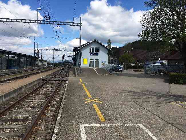 576 Bahnhof Fussganger Rampe L