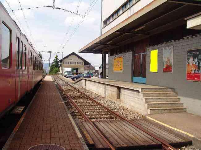 581 Bahnhof Gleis 1 L