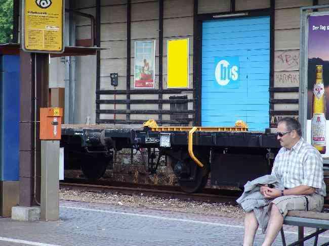 163 Bahnhof Geleisseite R