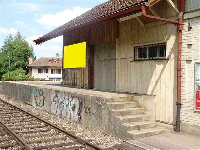 119 Bahnhof Geleisseite Schuppen