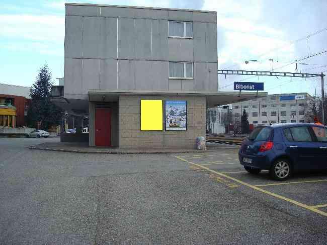 765 Bahnhof Geleisseite Velo Biberist Ost L