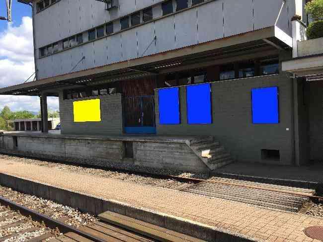 588 Bahnhof Gleis 1