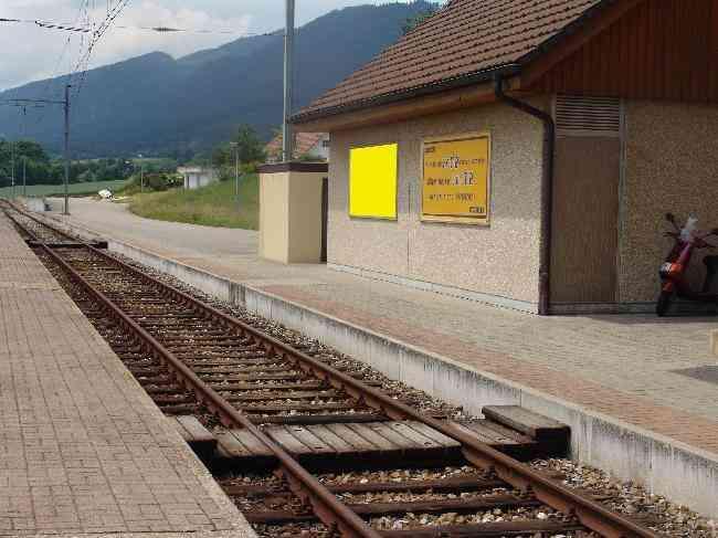 391 Bahnhof Gleiseseite L