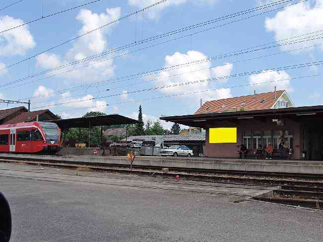 176 Bahnhof Perron Fussganger