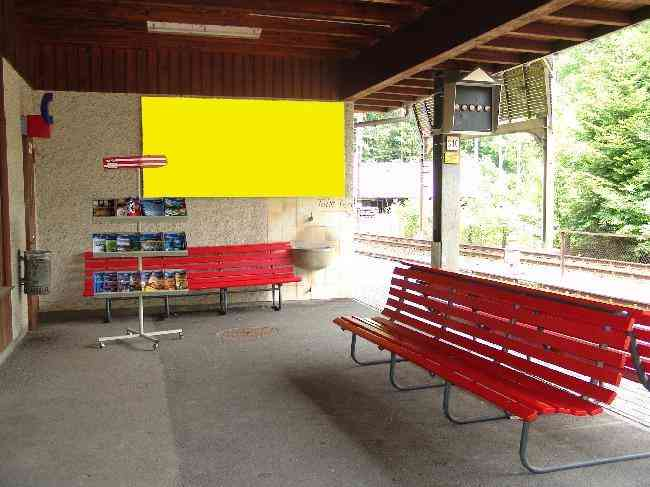 405 Bahnhof Perron Fussganger