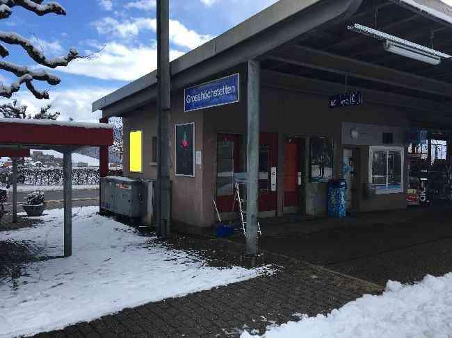 91 Bahnhof Velo Zufahrt Fussganger