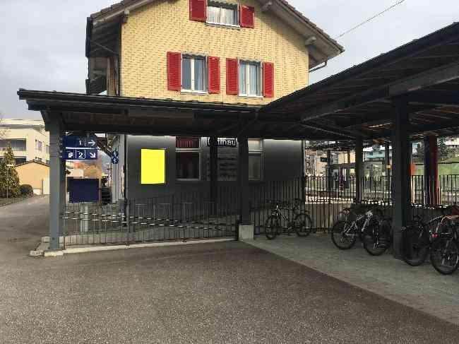 520 Bahnhof Zugang Velo