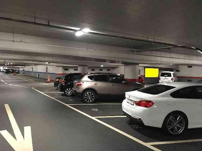 622 017 Bernexpo Parking Durchfahrt Zu Ausfahrt