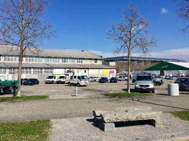651 21 Bernexpo Fussganger Parkplatz Festhalle