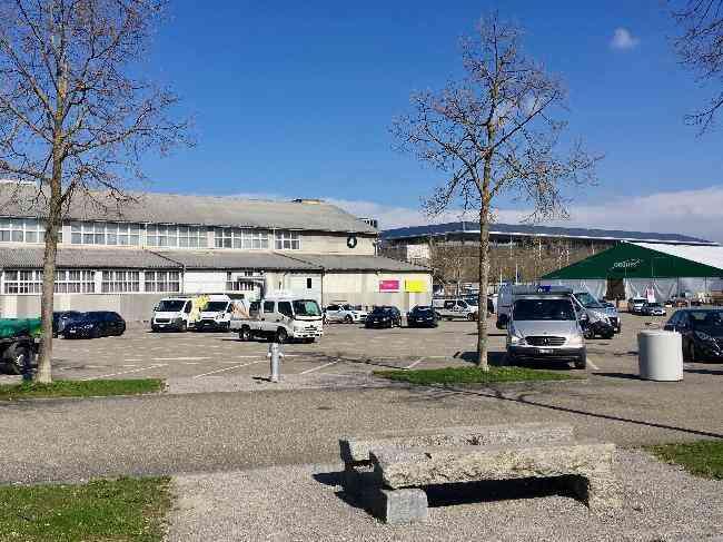 652 22 Bernexpo Fussganger Parkplatz Festhalle