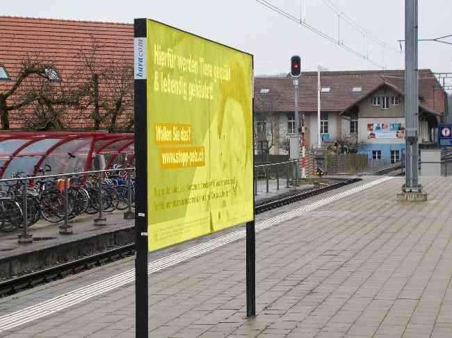 418 Gleis 2 Bahnhof