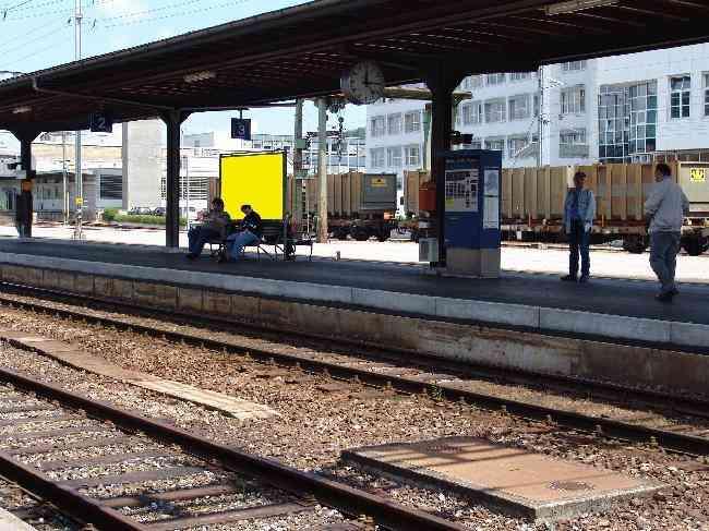 154 Gleis 2 Richtung Burgdorf Bahnhofstrasse 3