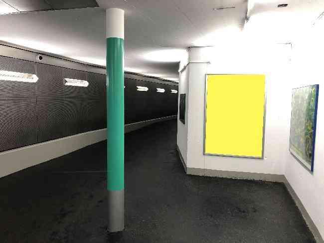 187 Inselparking Fussganger Lift Treppe Durchgang