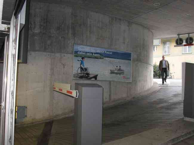 251 Parking Kursaal Grand Casino Ausfahrt