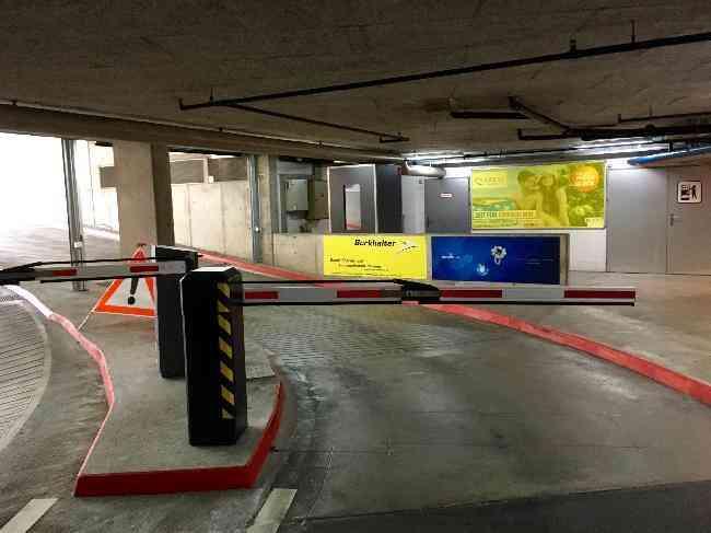 249 Parking Kursaal Grand Casino Einfahrt Ausfahrt