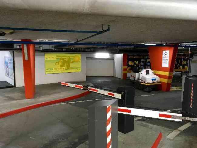 250 Parking Kursaal Grand Casino Einfahrt
