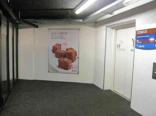 252 Parking Kursaal Grand Casino Lift Vorraum