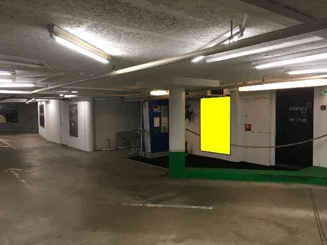 312 Parking Sternen Fussganger Eingang Kasse