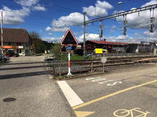 580 Strasse Bahnhof Steingasse